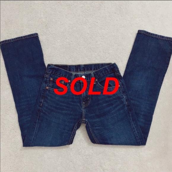 Levi's Strauss & Co Blue Jean Denim Pants Jeans 29